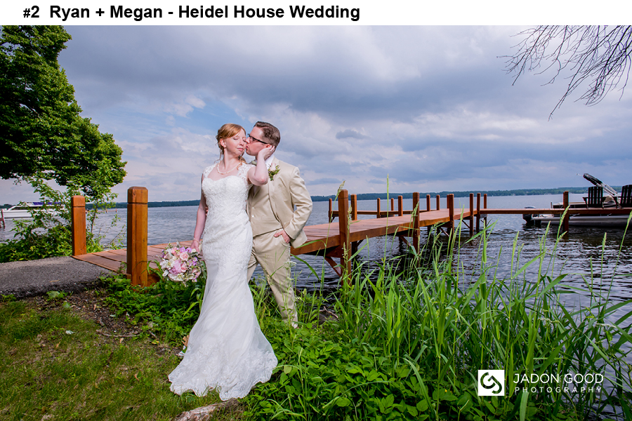 #2 Ryan + Megan Heidel House Wedding