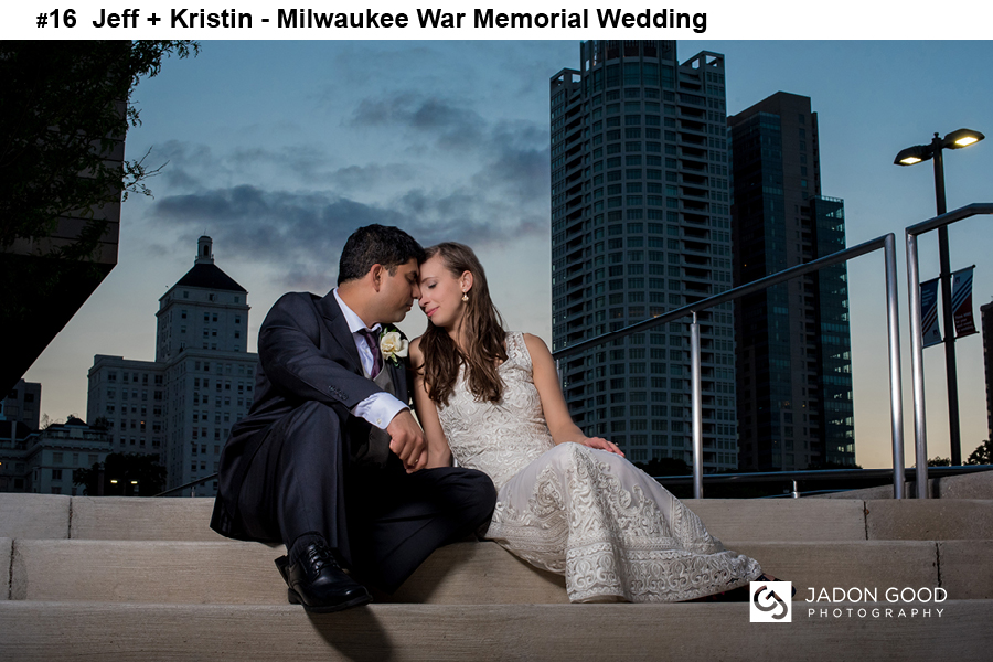 #16 Jeff + Kristin Milwaukee War Memorial Wedding